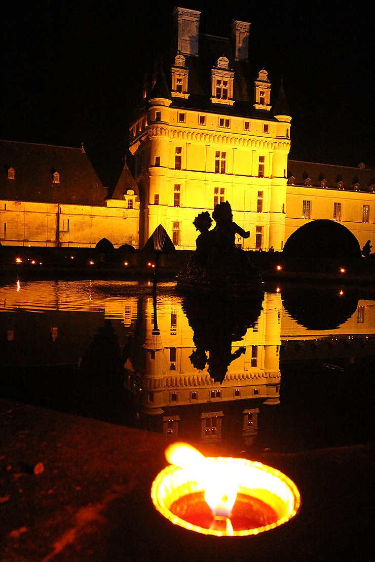 Flamboyant château de Valençay