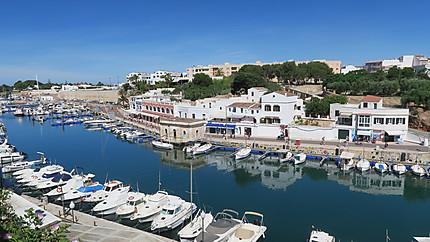 Port de Ciutadella Isla Menorca