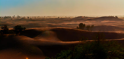 Poussière du Sahara