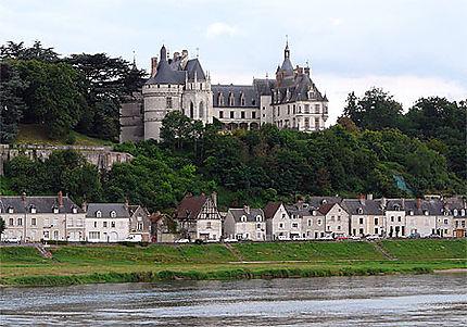Château de Chaumont et la Loire
