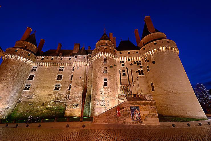 Mille lumières au château de Langeais