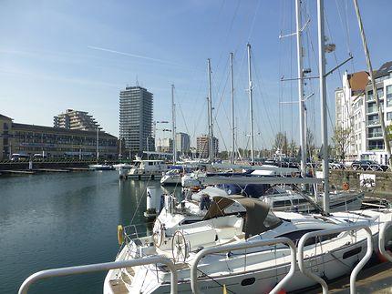 Port de plaisance d'Ostende