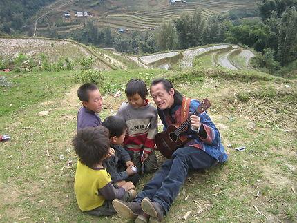 Ukulele au Vietnam à Sapa