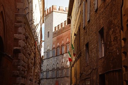 Drapeau à Sienne