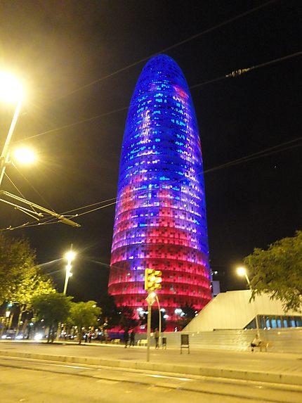 Torre Agbar, Architecte français !