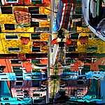 L'île de Burano, Venise