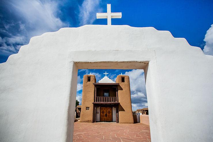Taos pueblo, Nouveau-Mexique