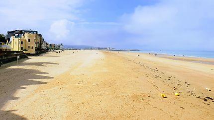 Trouville sublime plage normande