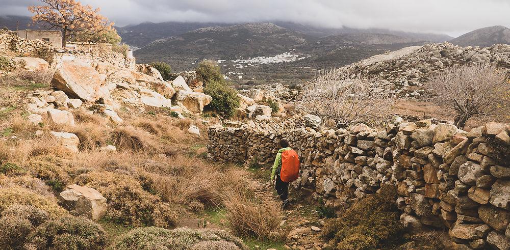 Grèce 7 jours dont trek 4 jours à Naxos