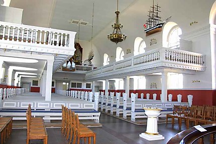 Intérieur de l'Eglise de Skagen