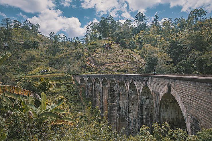 Le pont aux 9 Arches