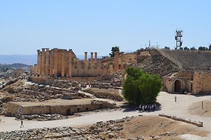 Le site de Jerash