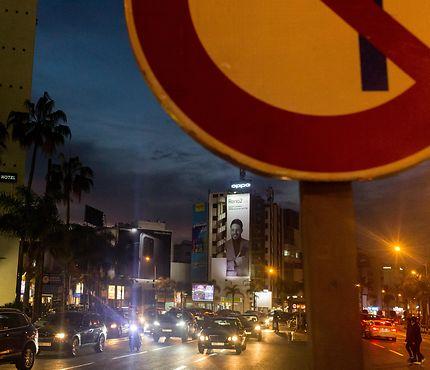 Crépuscule à Casablanca