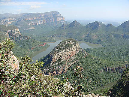 Vue sur Blyde River Canyon