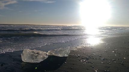 Iceland's Diamond Beach