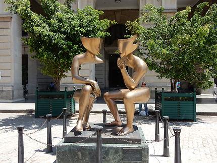 Statue à La Havane