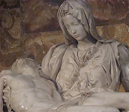 Pieta Détail