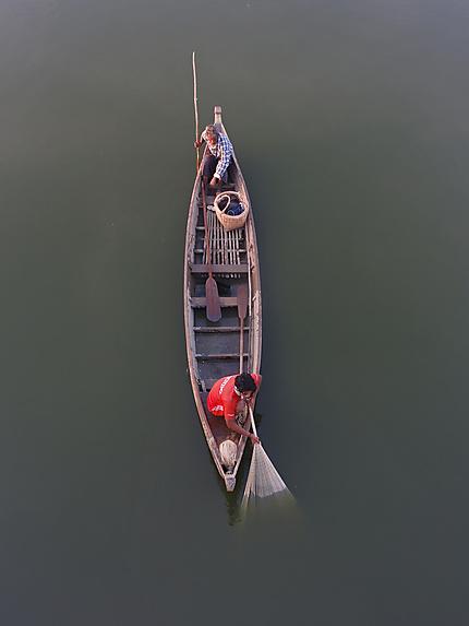 Pêche birmane