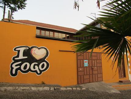 I love Fogo, São Filipe