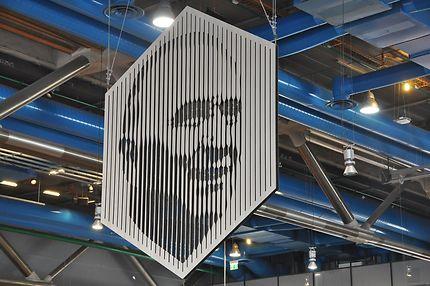 Centre Pompidou (Beaubourg), portrait de Georges
