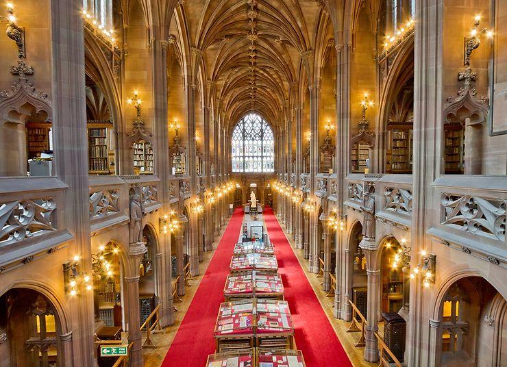 John Ryland Library, Manchester, Angleterre