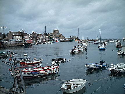 Port de Barfleur nord cotentin