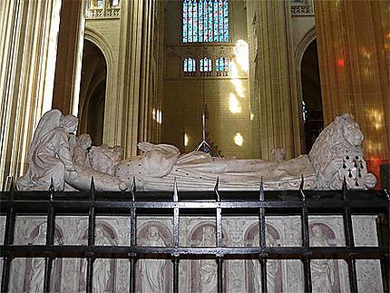 Tombeau de François II et Marguerite de Foix