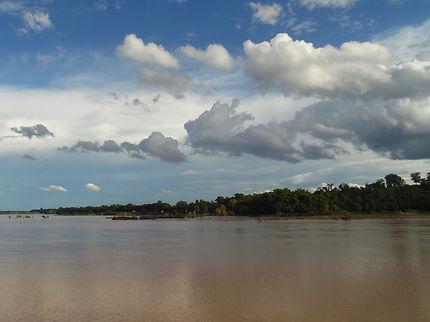 Vue sur le Cambodge