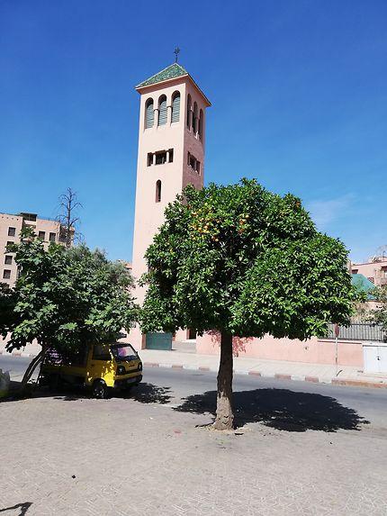 Eglise catholique de Marrakech