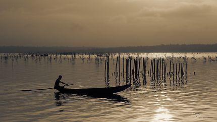Le pêcheur du lac Ahémé