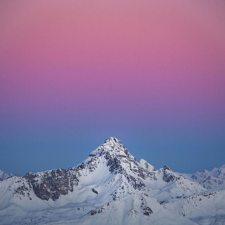 De la douceur au-dessus de Rochebrune, Hautes-Alpes