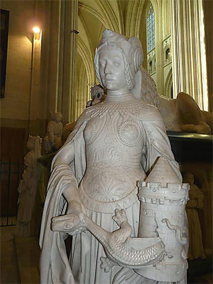 Statue représentant la force morale