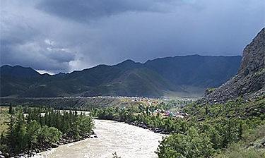 Montagnes de l'Altaï (Sibérie)