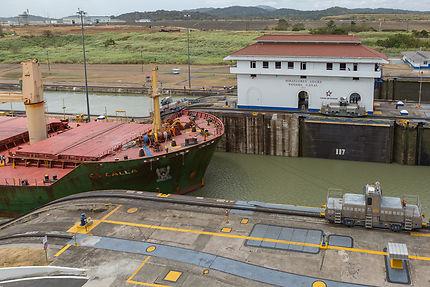 Ecluses de Miraflores, canal de Panama