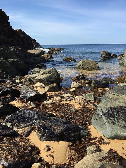 Belle plage en Finistère