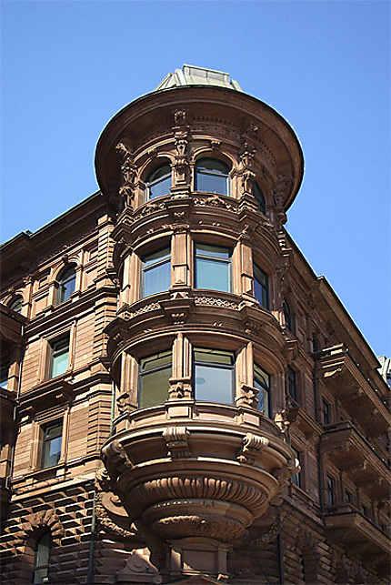 Un immeuble à Hambourg