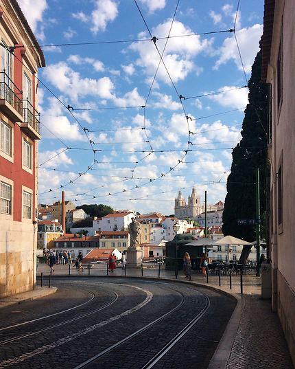 Alfama, old Lisboa