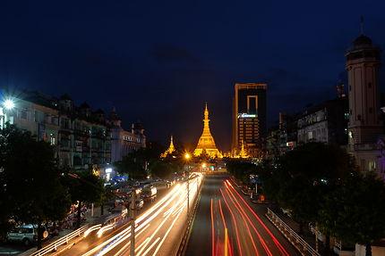 One night in Yangon