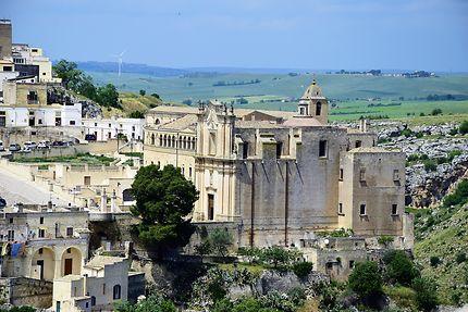 Panorama sur la ville de Matera