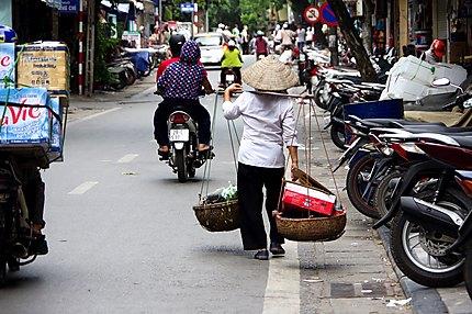 Dans les rues d'Hanoï