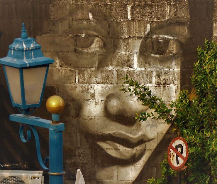 Graffiti à Malacca, Malaisie