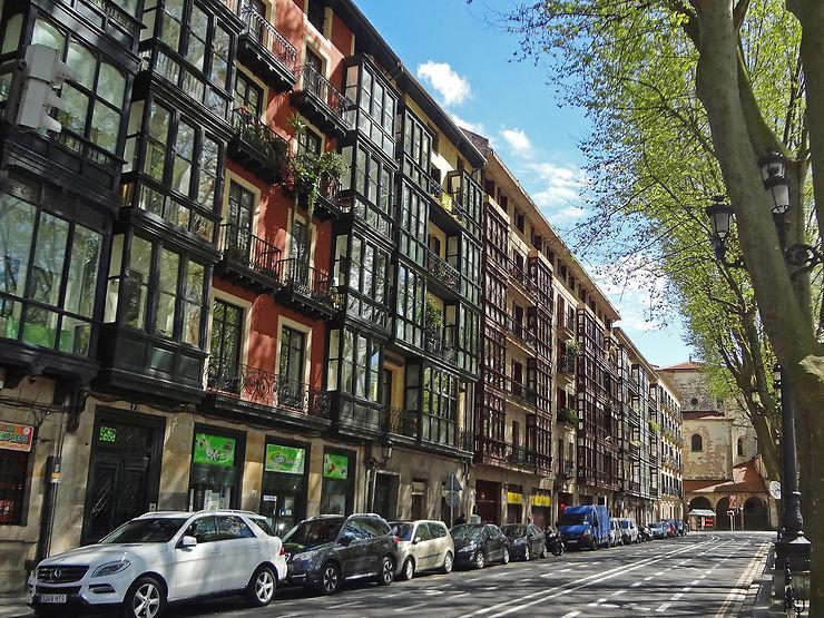 Le centre de Bilbao, entre Belle Époque et 21e siècle