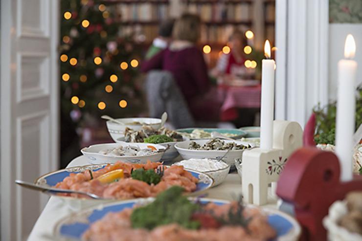 La Suède a l'esprit de Noël