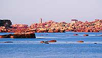 En Bretagne, sur la côte de Granit rose