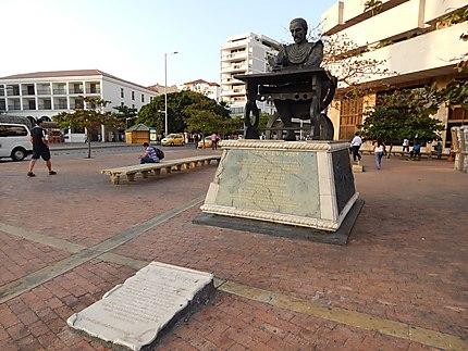 Statue de Miguel de Cervantes