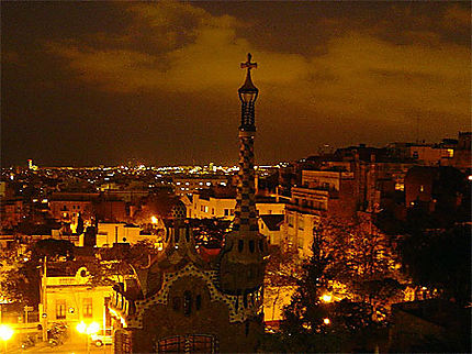 Parc Guell by night