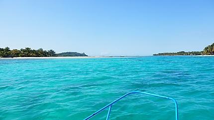 Excursion en mer à l'île Sainte Marie