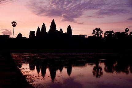Angkor Vat sunset !