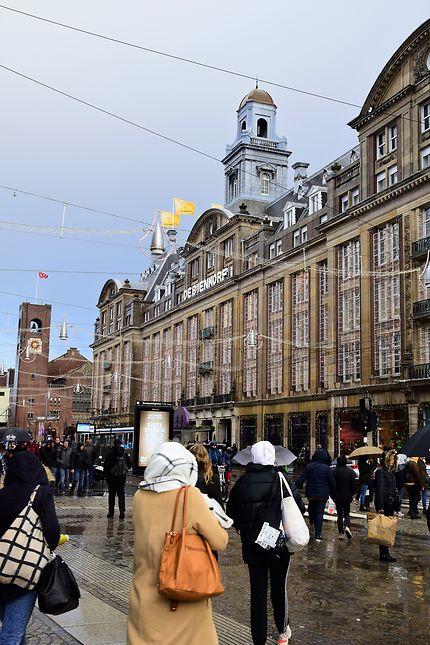 Le centre d'Amsterdam