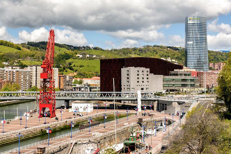 Bilbao, de la rivière à la mer